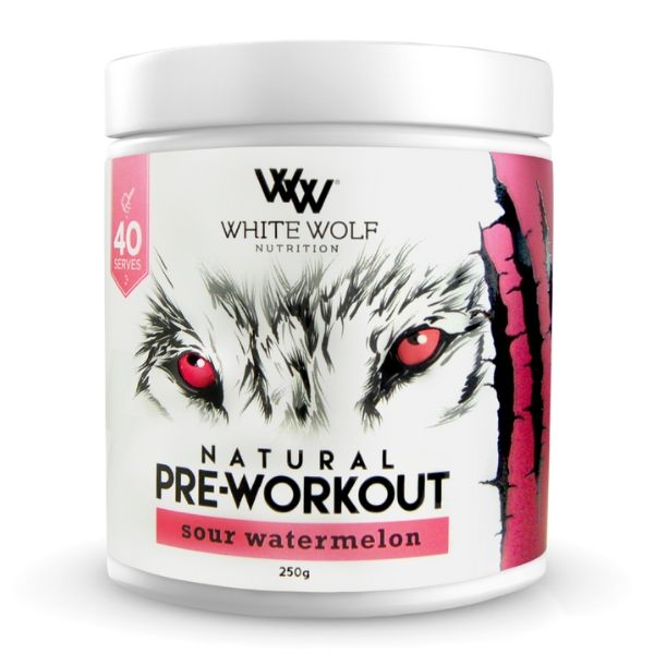 White Wolf Nutrition Natural Pre Workout - Watermelon