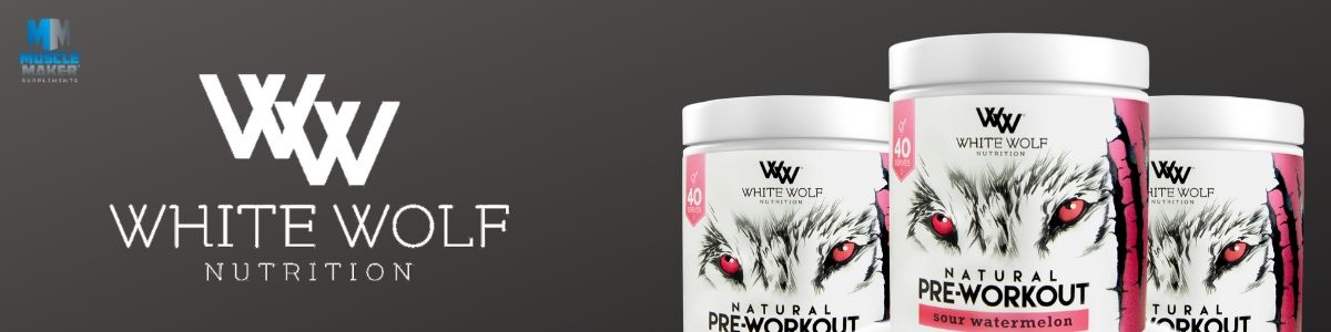 White Wolf Nutrition Natural pre Workout Banner