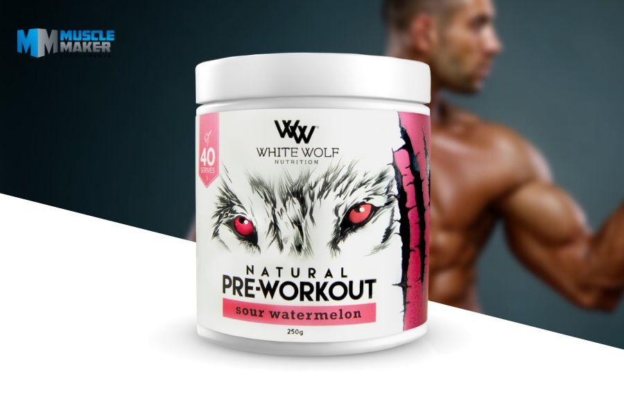 White Wolf Nutrition Natural pre Workout Product