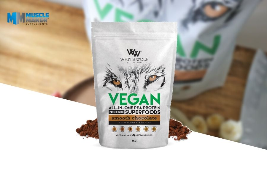 White Wolf Nutrition Vegan superfood protein Product