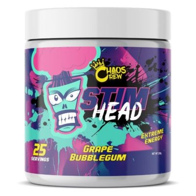 Chaos Crew Stim Head Pre Workout - Grape