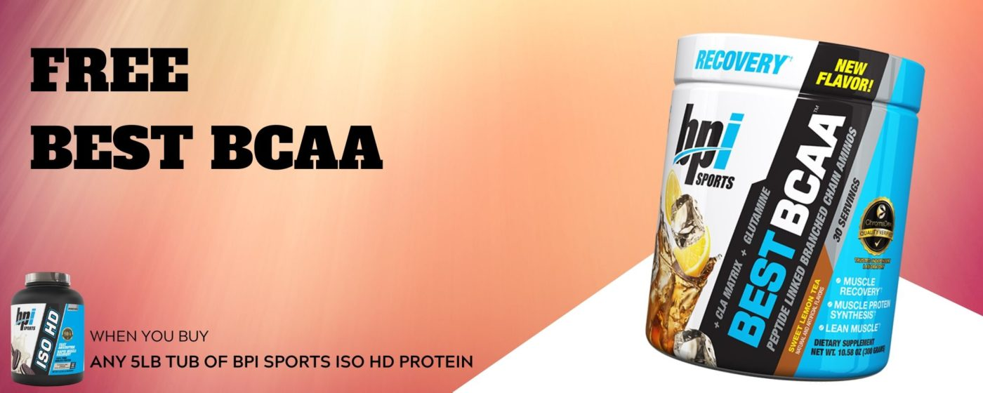 Free BPI Sports Best bcaa ISO HD deal banner