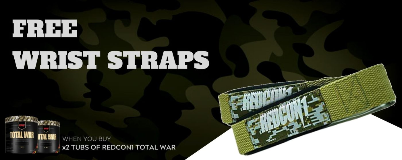 Free Redcon1 Lifting Straps. Total War Banner (1)