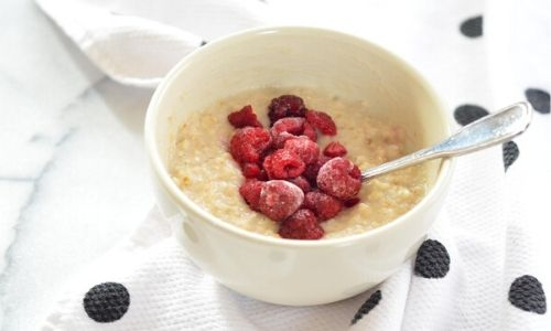 How to make quick & easy protein oats Banner