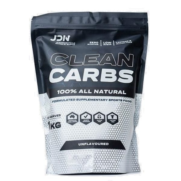 Jd Nutraceuticals 100% clean carbs 1kg