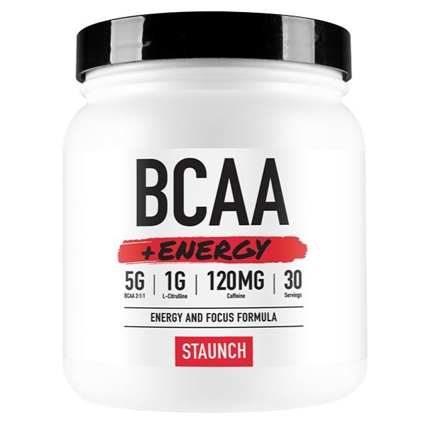 Staunch Nation BCAA + Energy