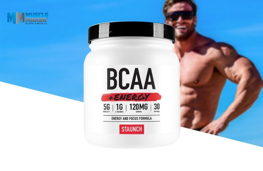 Staunch Nation BCAA + Energy Product