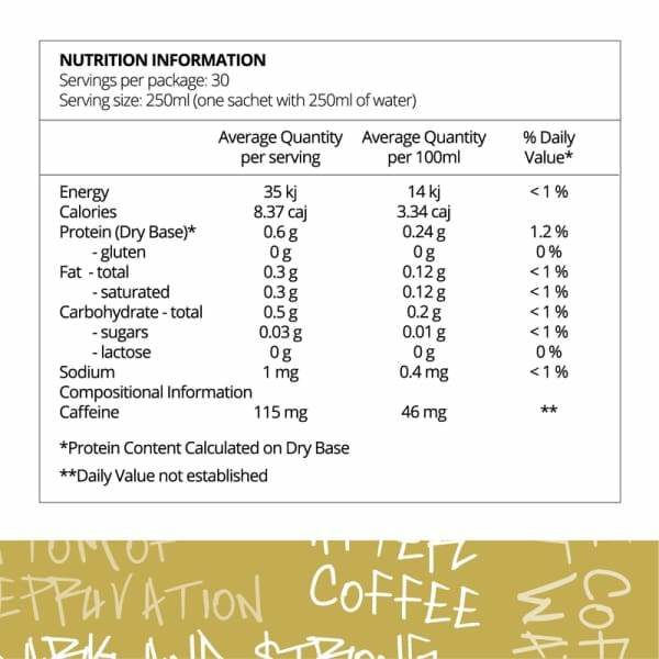 Before You Speak Coffee One The OG Nutrition