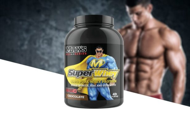 Max's Nutrition Super whey Product