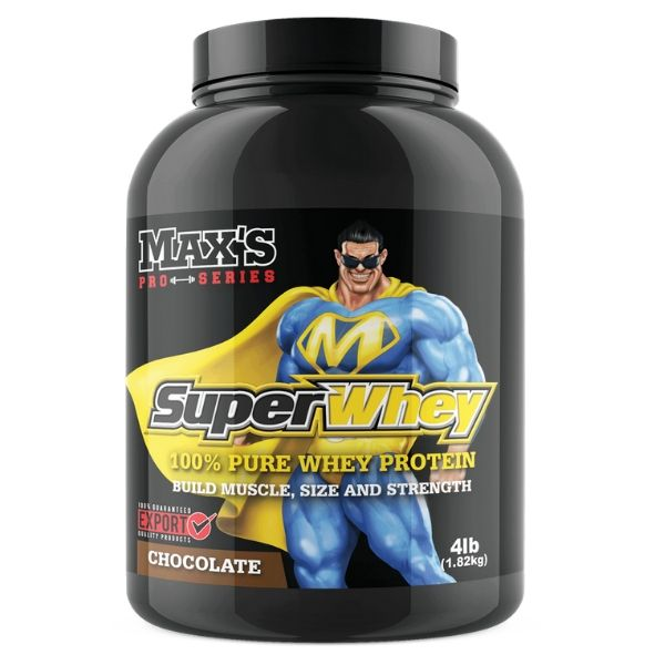 Max's Nutrition Super whey protein