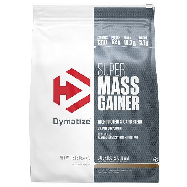 Dymatize Super Mass Gainer 12lb - C&C