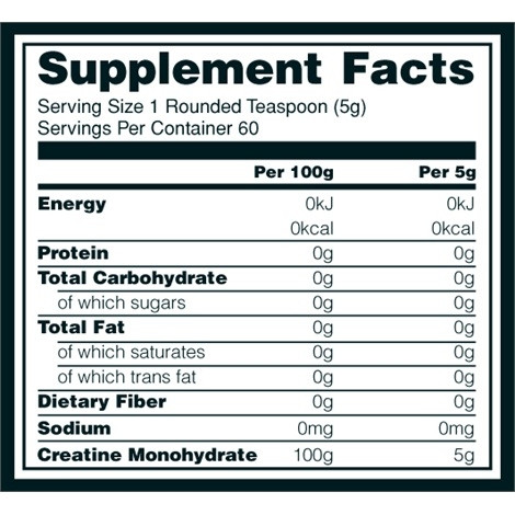Optimum Nutrition Micronized Creatine Powder Nutrition
