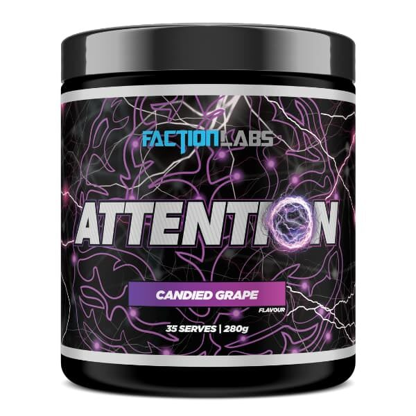 Faction Labs Attention Nootropic - Candied Grape