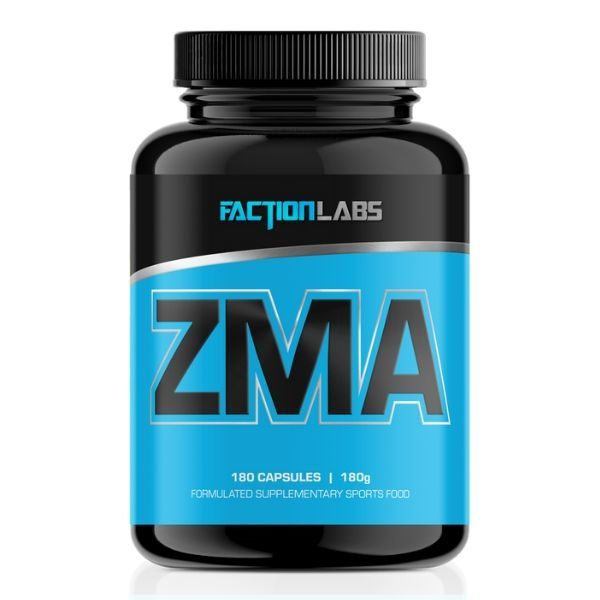 Faction Labs ZMA 180 Capsules