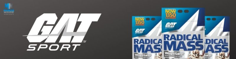 GAT Sport Radical Mass Gainer Banner