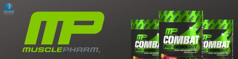 Musclepharm Combat pre workout Banner