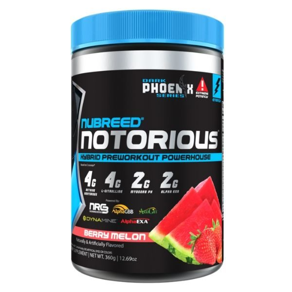 Nubreed Nutrition Notorious Pre Workout