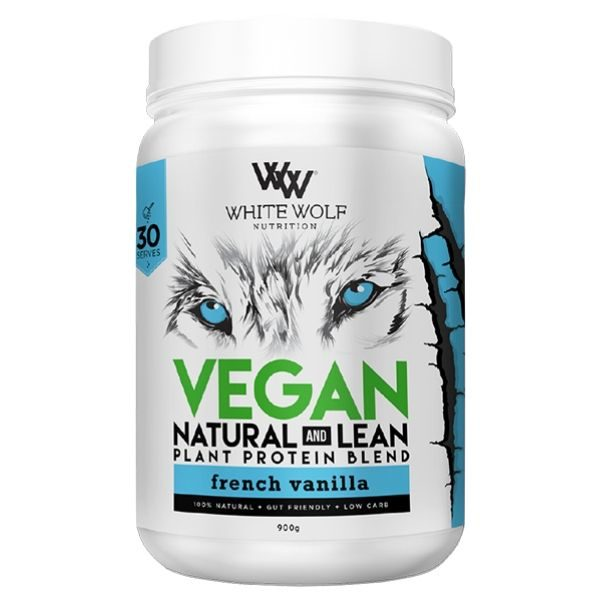White Wolf Nutrition Natural + Lean Vegan Protein - Van