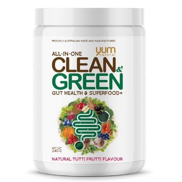 Yum Natural Clean & Green - Tutti Frutti