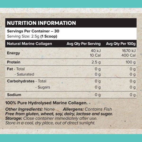 Muscle Nation Marine Collagen Nutrition