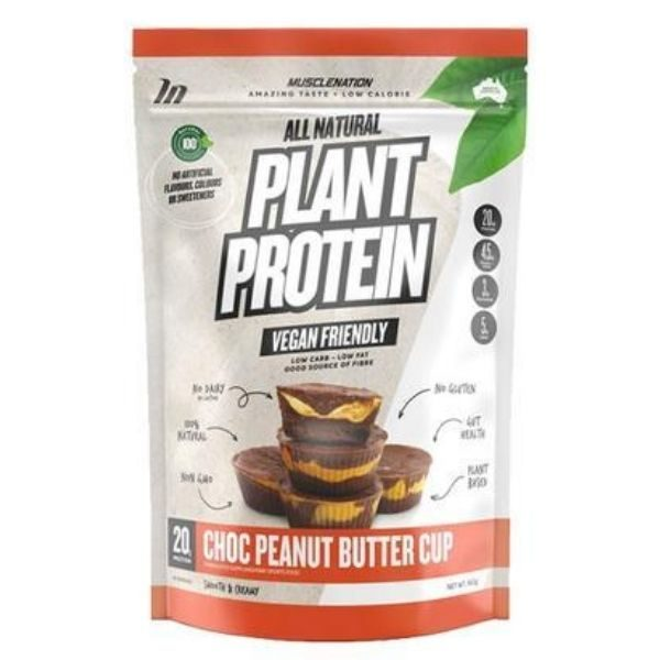 Muscle Nation All Natural Plant Protein