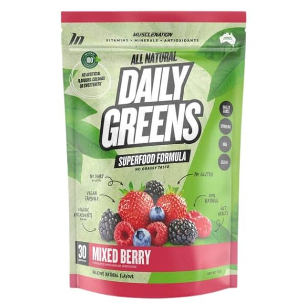 Muscle Nation Daily Greens - Mixed Berry