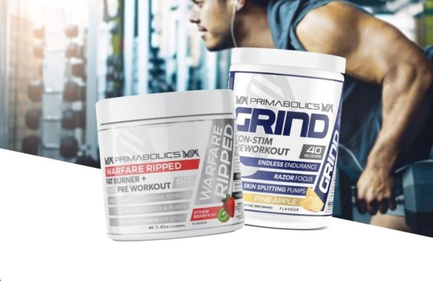 Primabolics Shred & Pump Stack Product