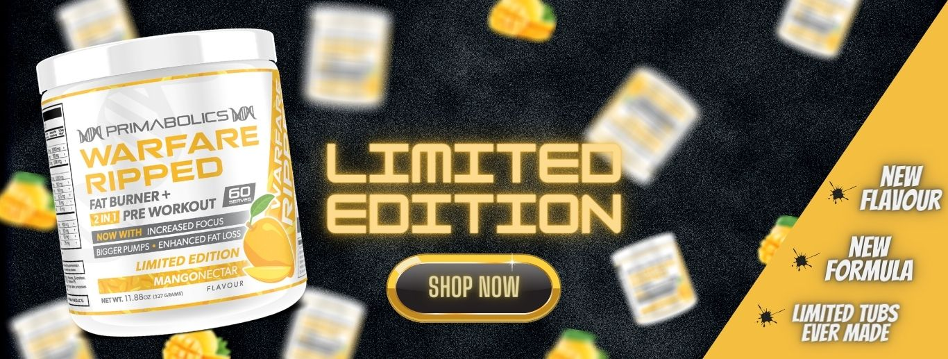 Warfare Ripped Limited Edition Banner