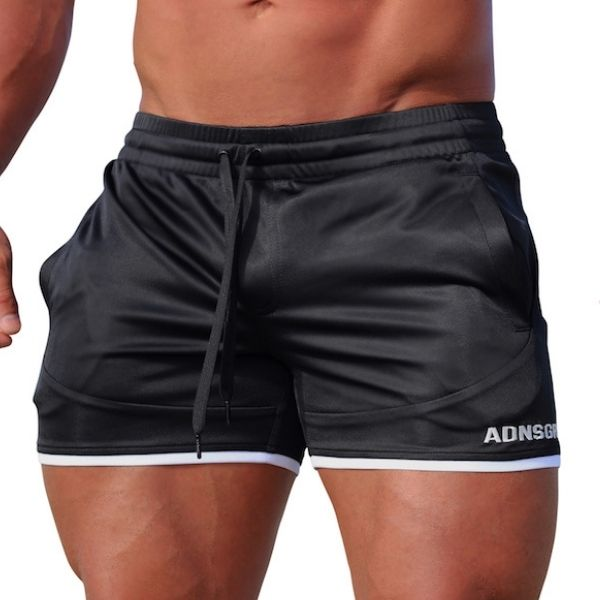 Adonis Gear Envy Shorts - Black White