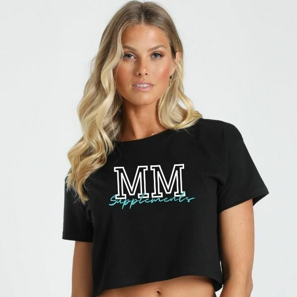 Copy of Muscle Maker Valerie crop tee