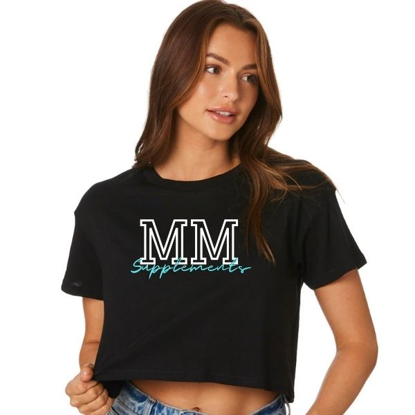 Muscle Maker Valerie crop tee