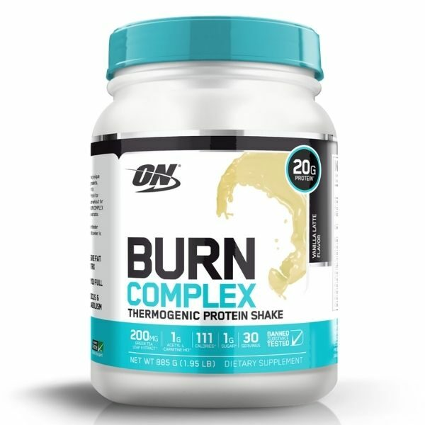 Optimum Nutrition Burn Complex Thermogenic Protein Shake - Vanilla
