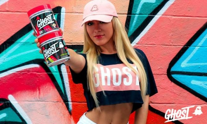 Pre workout Ghost lifestyle Banner