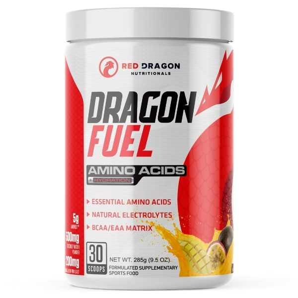 Red Dragon Nutritionals Dragon Fuel BCAA - mango passionfruit