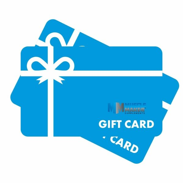 Muscle Maker Supplements In Store Gift Card