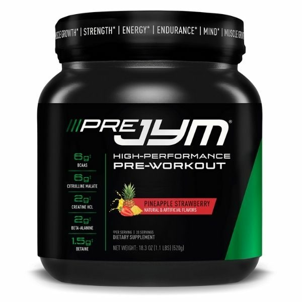 Jym Supplement Science Pre Jym