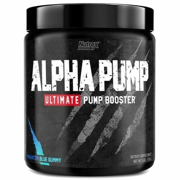 Nutrex Research Alpha Pump - Blue Gummy