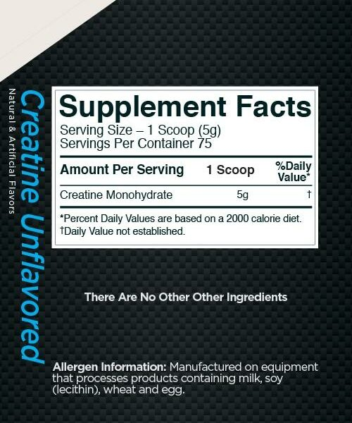 Rule 1 Proteins R1 Creatine Monohydrate Nutrition