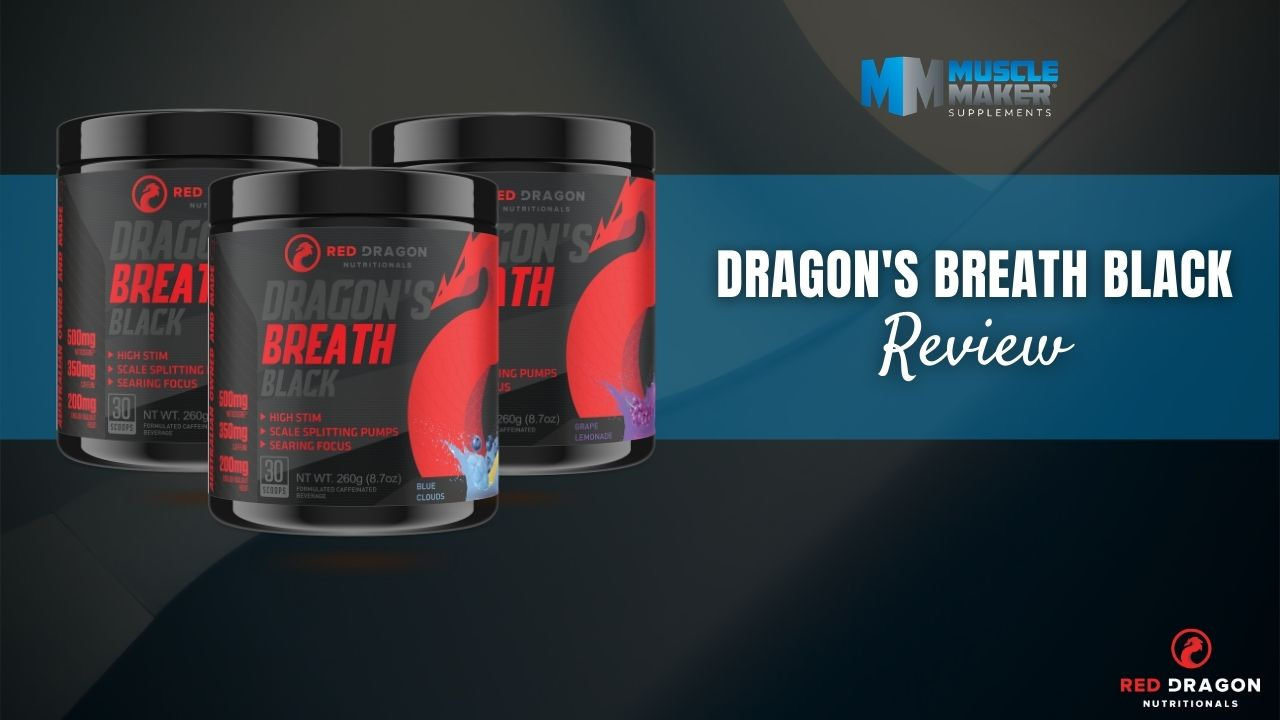 Red Dragon Nutritionals Dragons Breath Black Review Thumbnail