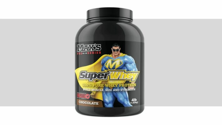 Max's Superwhey - Best protein powders of 2021