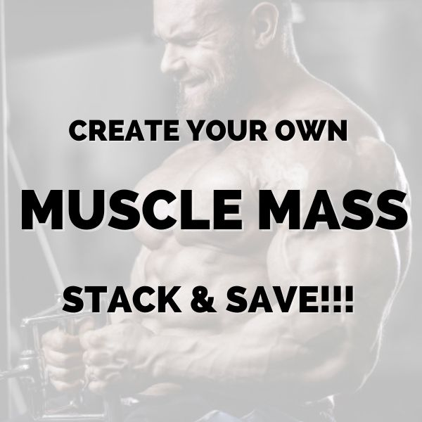 Create your own Muscle mass stack & save