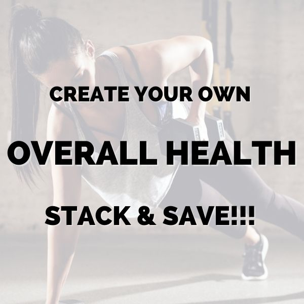 Create your own overall health stack & save