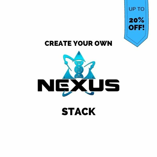 Create your own Nexus Sports Nutrition stack