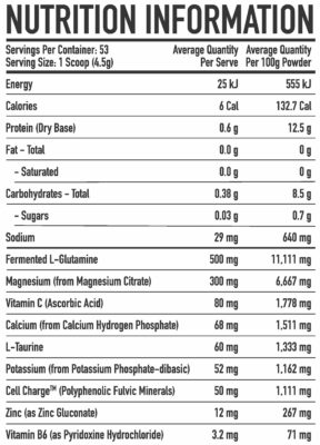 Trusted Nutrition Advanced Magnesium Powder Nutrition