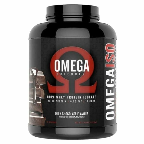 Omega Sciences 100% whey protein isolate