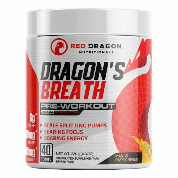 Red Dragon Nutritionals Dragons Breath Pre Workout