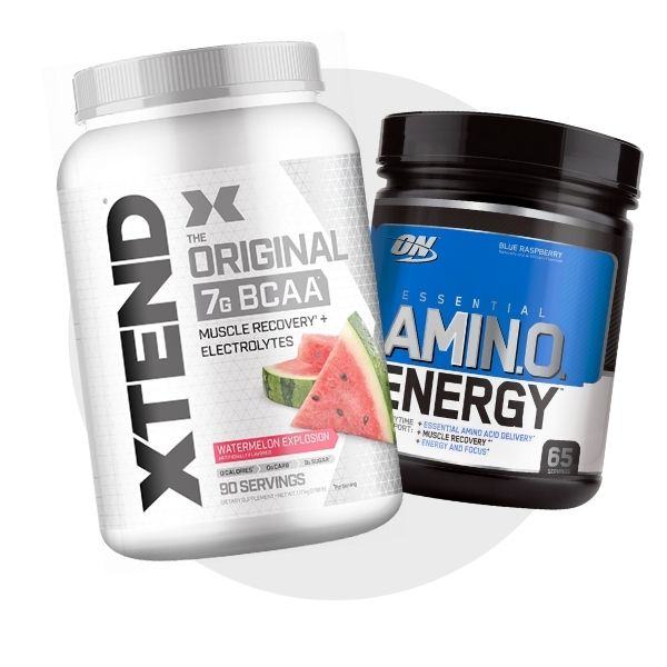Aminos / bcaas shop by category build lean muscle logo