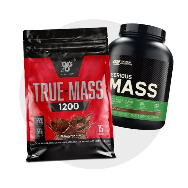 Mass gainers Creatines shop by category logo