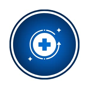 Shop by goal / improve recovery icon