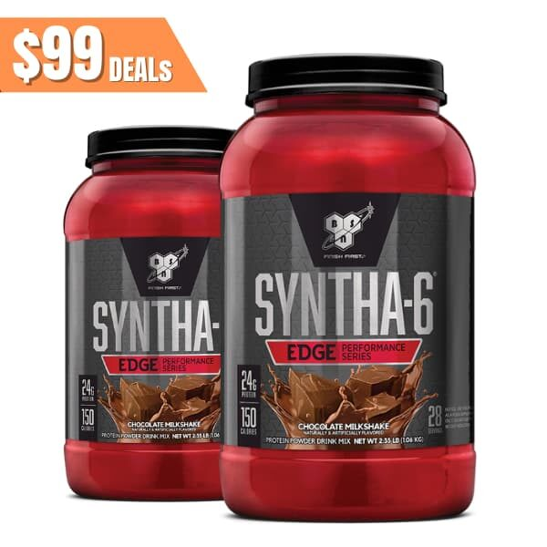 BSN Syntha-6 2lb Twin pack